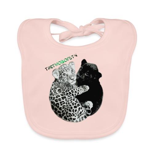 panther-jaguar special edition - Baby økologisk hagesmæk
