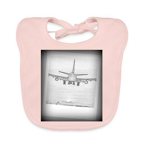 747 - Babero de algodón orgánico para bebés