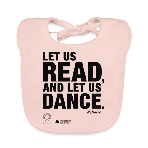 LET US READ | Bookish Merch - Baby Bio-Lätzchen