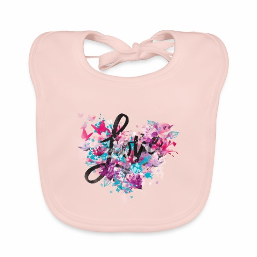 Love with Heart - Organic Baby Bibs