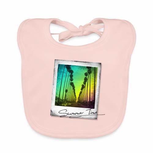 Summer Time - Baby Organic Bib