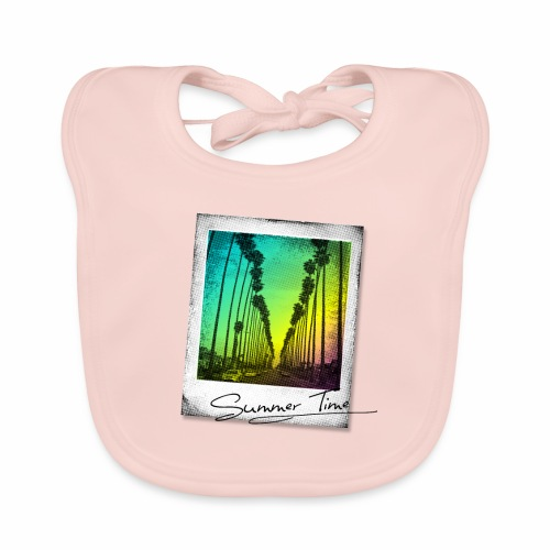 Summer Time - Organic Baby Bibs