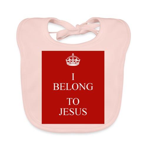 i belong to jesus - Baby Bio-Lätzchen
