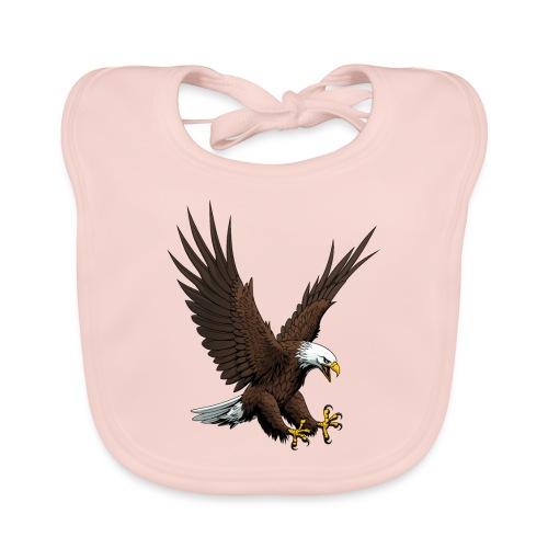 Adler sturzflug - Baby Bio-Lätzchen