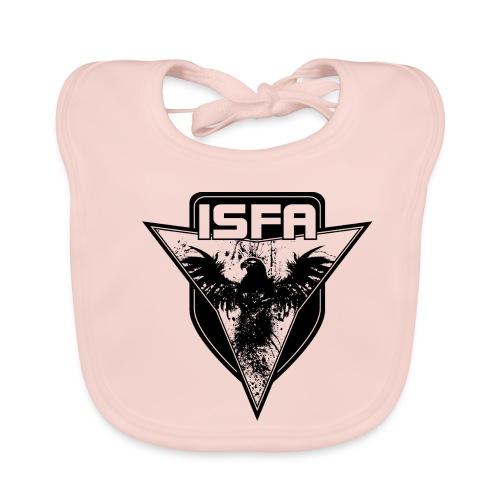 isfa logo 1c schwarz - Baby Bio-Lätzchen