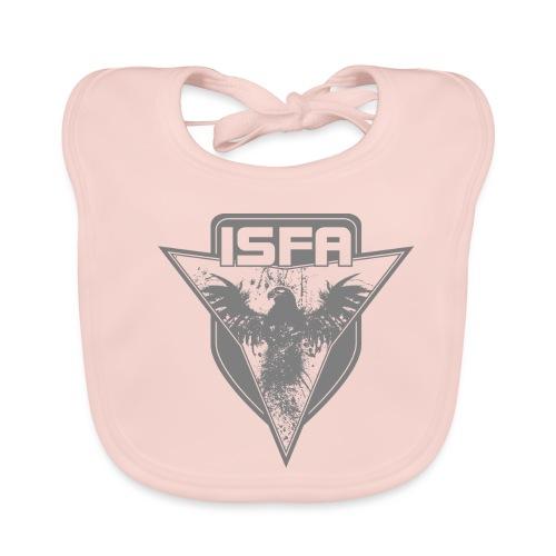isfa logo 1c grau - Baby Bio-Lätzchen