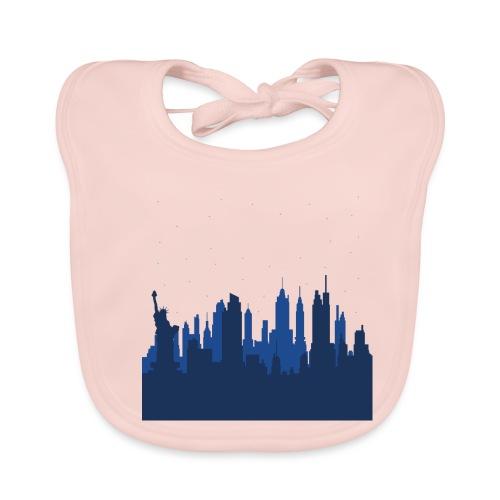 Manhattan Skyline - Bavoir bio Bébé