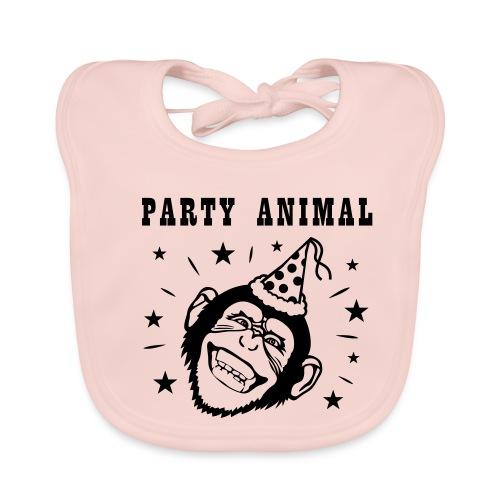 Party Monkey - Bio-slabbetje voor baby's