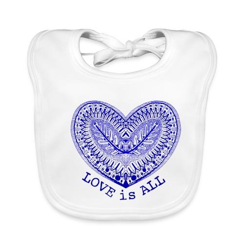 love is all - Bio-slabbetje voor baby's