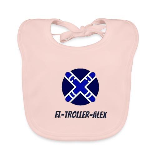 DISEÑO EL TROLLER ALEX EVO - Babero de algodón orgánico para bebés