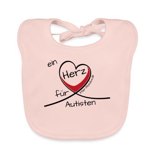 Ein Herz für Autisten - Baby Bio-Lätzchen