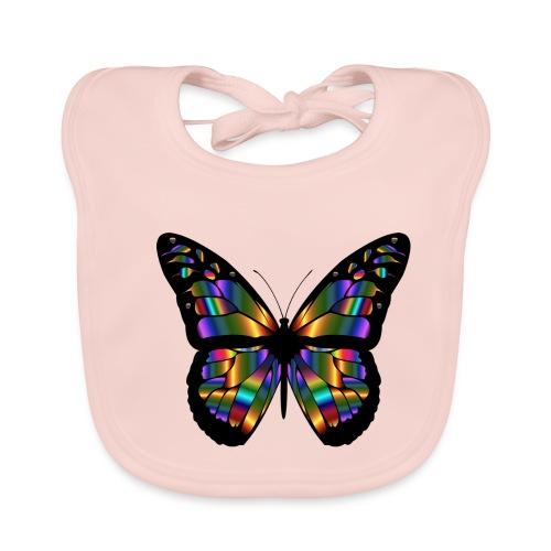 papillon design - Bavoir bio Bébé
