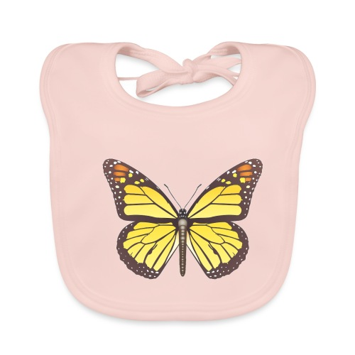 190520 monarch butterfly lajarindream - Babero ecológico bebé