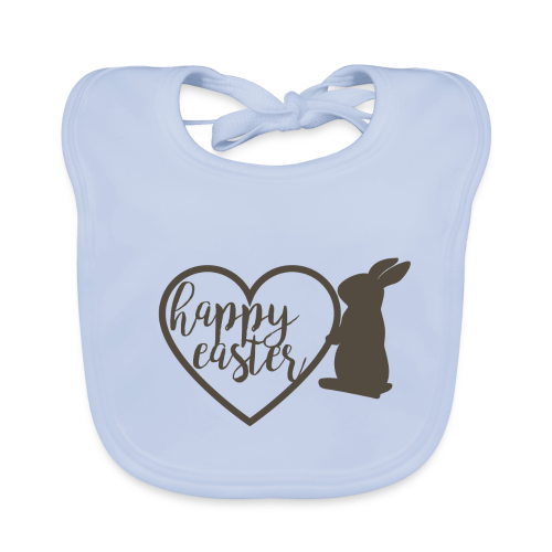 Happy Easter - Baby Bio-Lätzchen