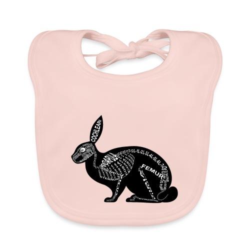 konijn skelet - Bio-slabbetje voor baby's