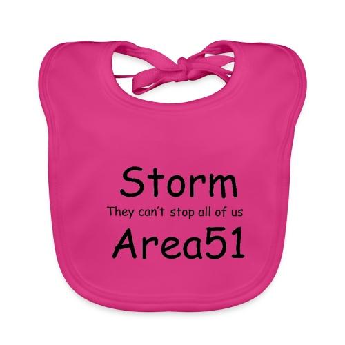 Storm Area 51 - Organic Baby Bibs