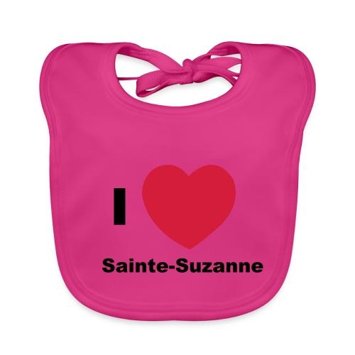 i love sainte suzanne - Bavoir bio Bébé