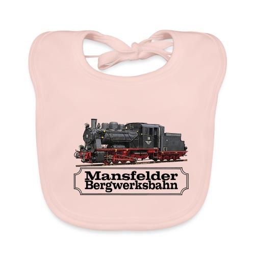 mansfelder bergwerksbahn dampflok 1 - Baby Bio-Lätzchen