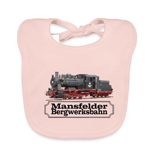mansfelder bergwerksbahn dampflok 3 - Baby Bio-Lätzchen