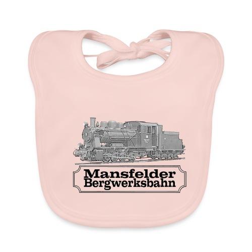 mansfelder bergwerksbahn dampflok 2 - Baby Bio-Lätzchen