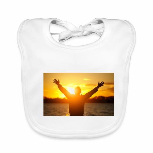 Camiseta Libre - Babero de algodón orgánico para bebés