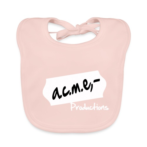 acmeproductionswhite - Baby Bio-Lätzchen