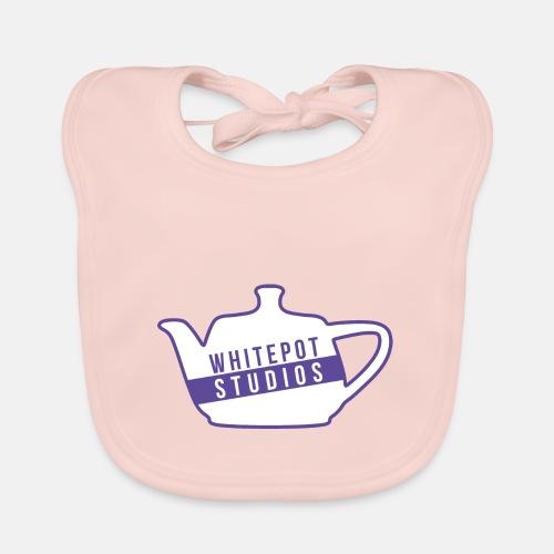 Whitepot Studios Logo - Baby Organic Bib