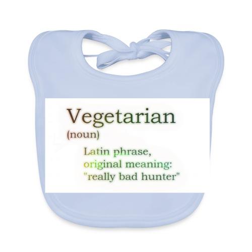 funny-vegetarian - Baby Organic Bib