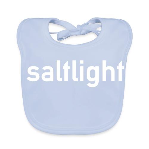 Saltlight WHITE - Baby Organic Bib