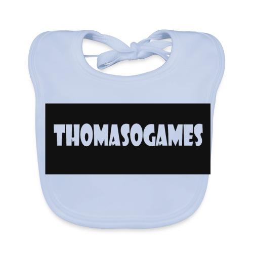 ThomasoGames Logo - Bio-slabbetje voor baby's