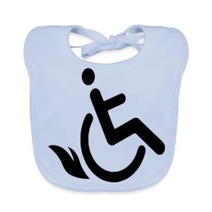 Wheelchairflame1 - Bio-slabbetje voor baby's