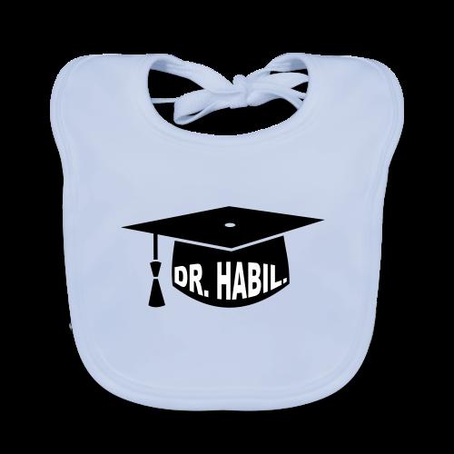 Doktorhut Professor Habilitation Geschenk - Baby Bio-Lätzchen