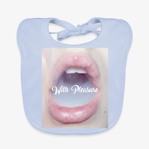 With Pleasure Mouth 2 - Baby Organic Bib