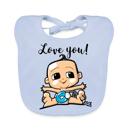 baby boy color - Bio-slabbetje voor baby's