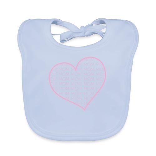 Mother's Day Heart - Baby Organic Bib
