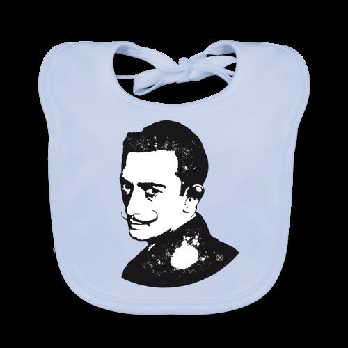 Salvador Dalí - Babero ecológico bebé