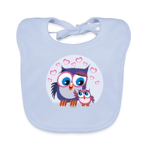 10-31 OWLS - PÖLLÖT - Vauvan ruokalappu