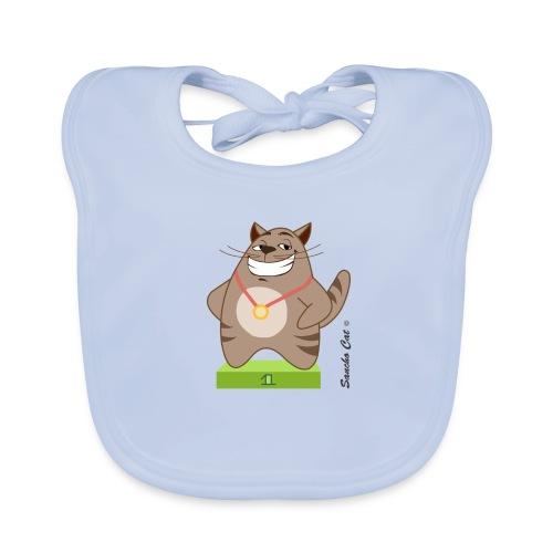 Die Nummer 1 - Sancho Cat © - Baby Bio-Lätzchen