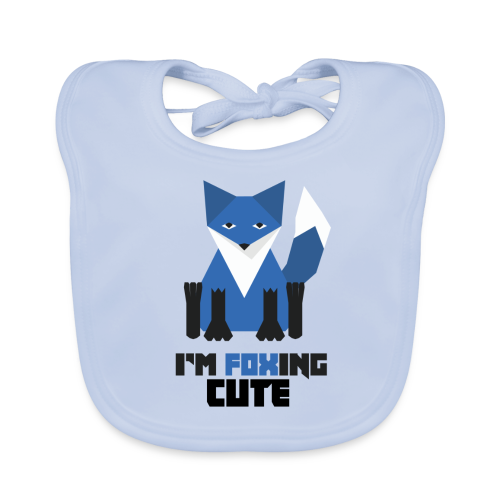 I'm Foxing Cute : Boy Edition - Bavoir bio Bébé
