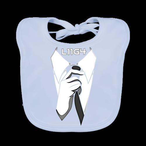 Herrasmiesten Liiga (L11G4) Fan T-Shirt - Vauvan ruokalappu