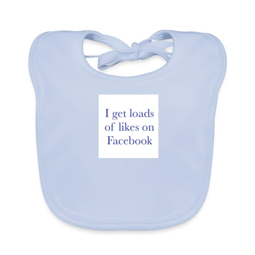 Facebook likes - Baby Organic Bib