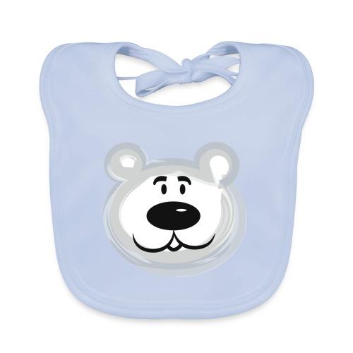 bear png - Baby Organic Bib