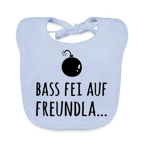 Bass fei auf Freundla - Baby Bio-Lätzchen