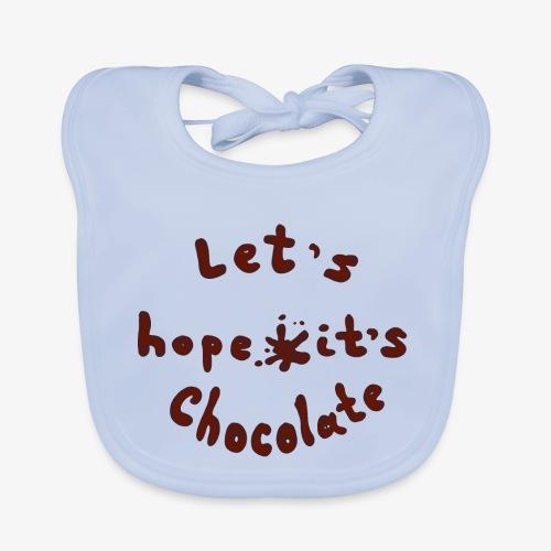 Chocolate - Baby Bio-Lätzchen