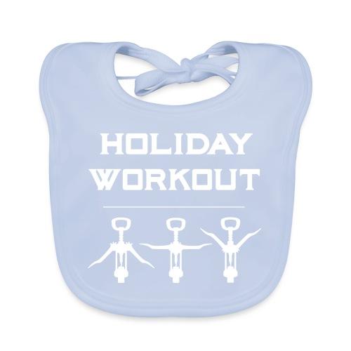 Holiday Workout - Urlaubs Übungen - Baby Organic Bib