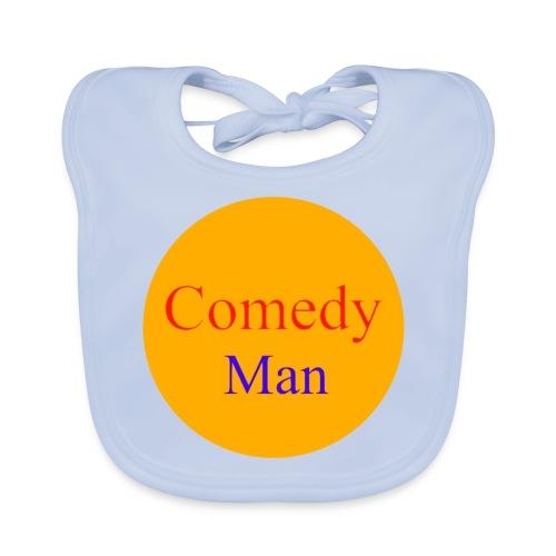 comedy man logo - Bio-slabbetje voor baby's