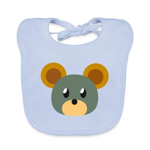 Maus »Pieps« - Baby Organic Bib