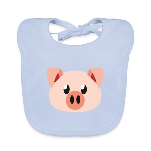 Schweinchen »Oink Oink« - Baby Organic Bib