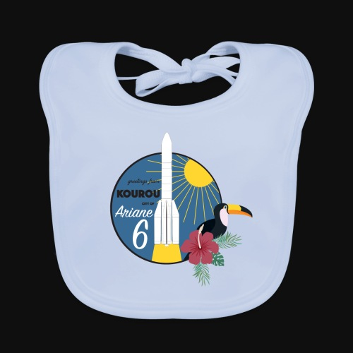 Ariane 6 By Itartwork - Baby Organic Bib