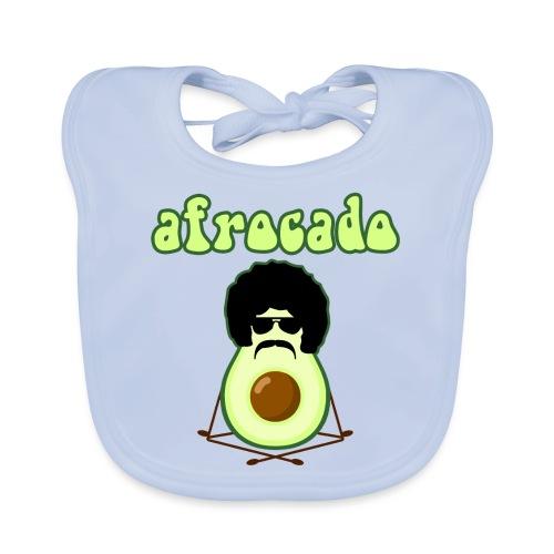 afrocado avocado yoga namaste hippie pace amore - Bavaglino ecologico per neonato